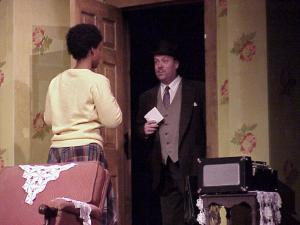 "My first show. Me as Karl Linder in ""A Raisin In the Sun"" at the Ritz Theatre in Oaklyn, NJ"