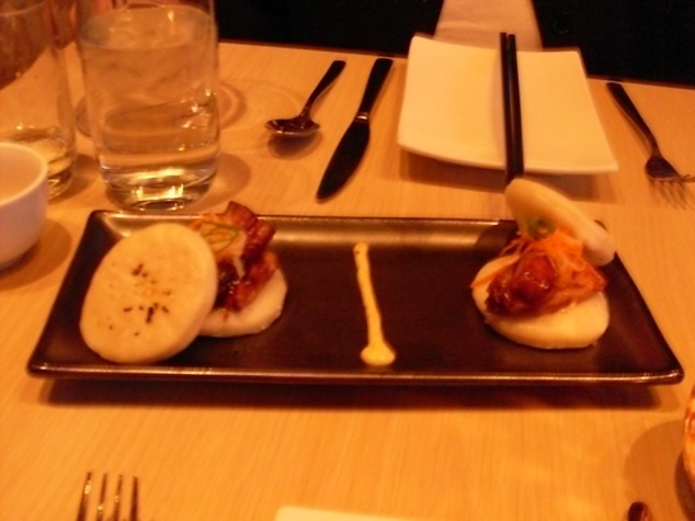 Amazing Pork Belly Buns - My 2nd favorite, right after the lamb.
