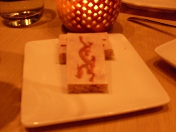 Pretty and vaguely sweet rice treats for dessert!