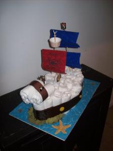 This Pirate Ship is perfect for the mom-to-be who's having a little boy.