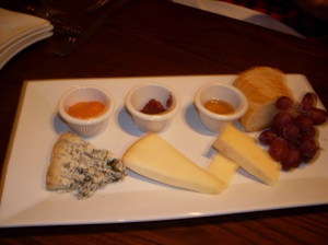 Cheese plate to-die-for.