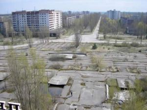 Chernobyl - Nature takes over what man has left behind.