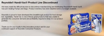 Reynolds discontinued