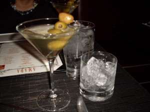 Extra cold dirty Ketel 1 martini with rocks on the side. I'm in Heaven!