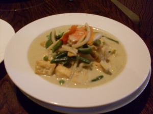 The Best Green Curry in South Jersey!